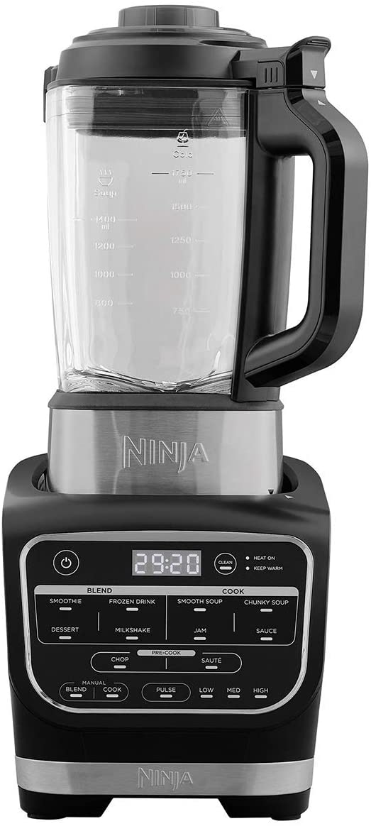 Ninja Mixer & Soup Cooker - Black
