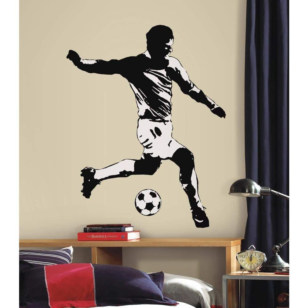 RoomMates Repositionable Wall Stickers - Football Player