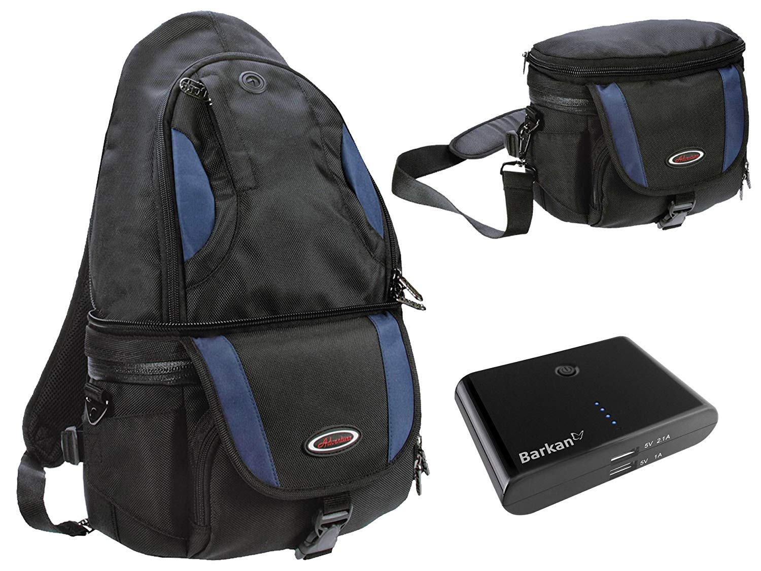 Photography Camera BackPack and all in one set with 8800 mAh Power Bank