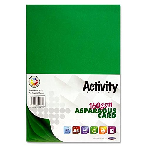 Premier Stationery Activity Card - Pack of 50 Sheet
