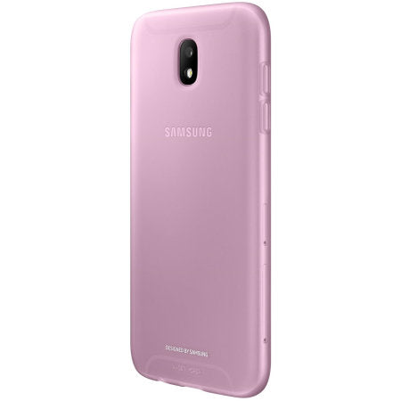 Samsung Galaxy Hülle J5 (2017) Jelly Cover Pink