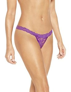 Sylvie Flirty Lingerie Women's Abby String Pack of 3