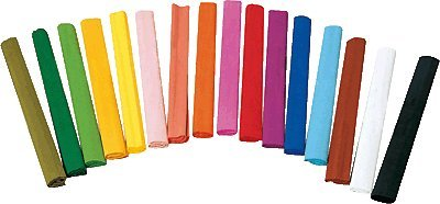 Unipapel Pack 10 Sheets of Crepe Paper