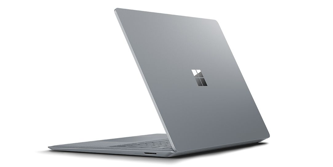 Surface Laptop: I5 processor + 8GB of RAM and 256GB of SSD