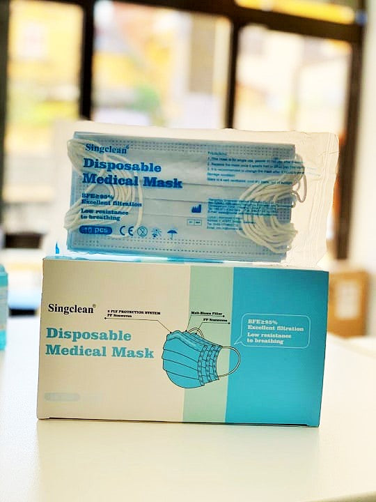 Singclean surgical mask - unit sale