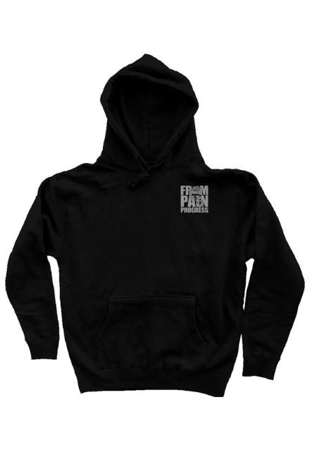 FP2P Men's Embroidered hoodie (other colors available) - FromPain2Progress.Com