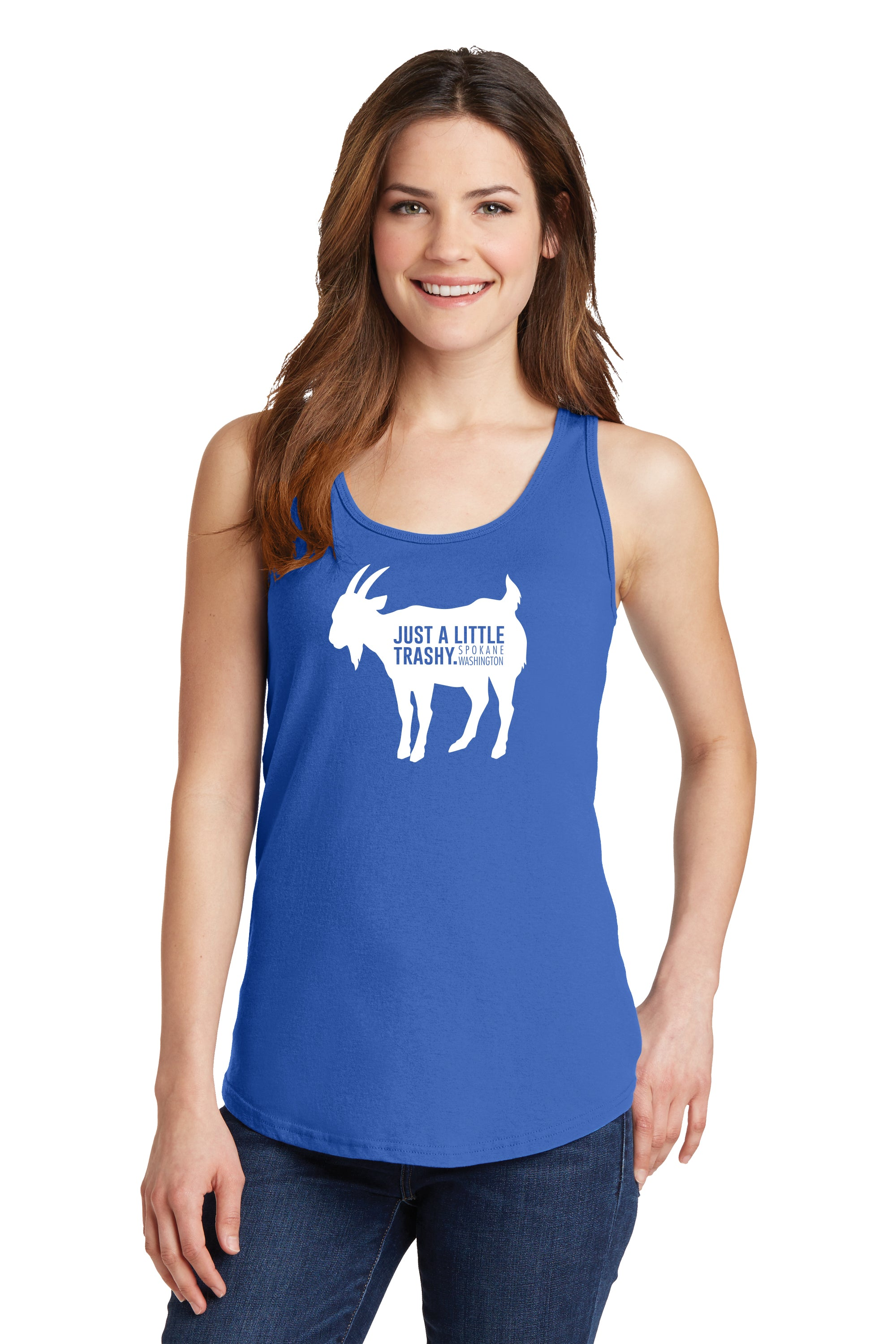 TRASHY GOAT - TEEN GIRL TANK