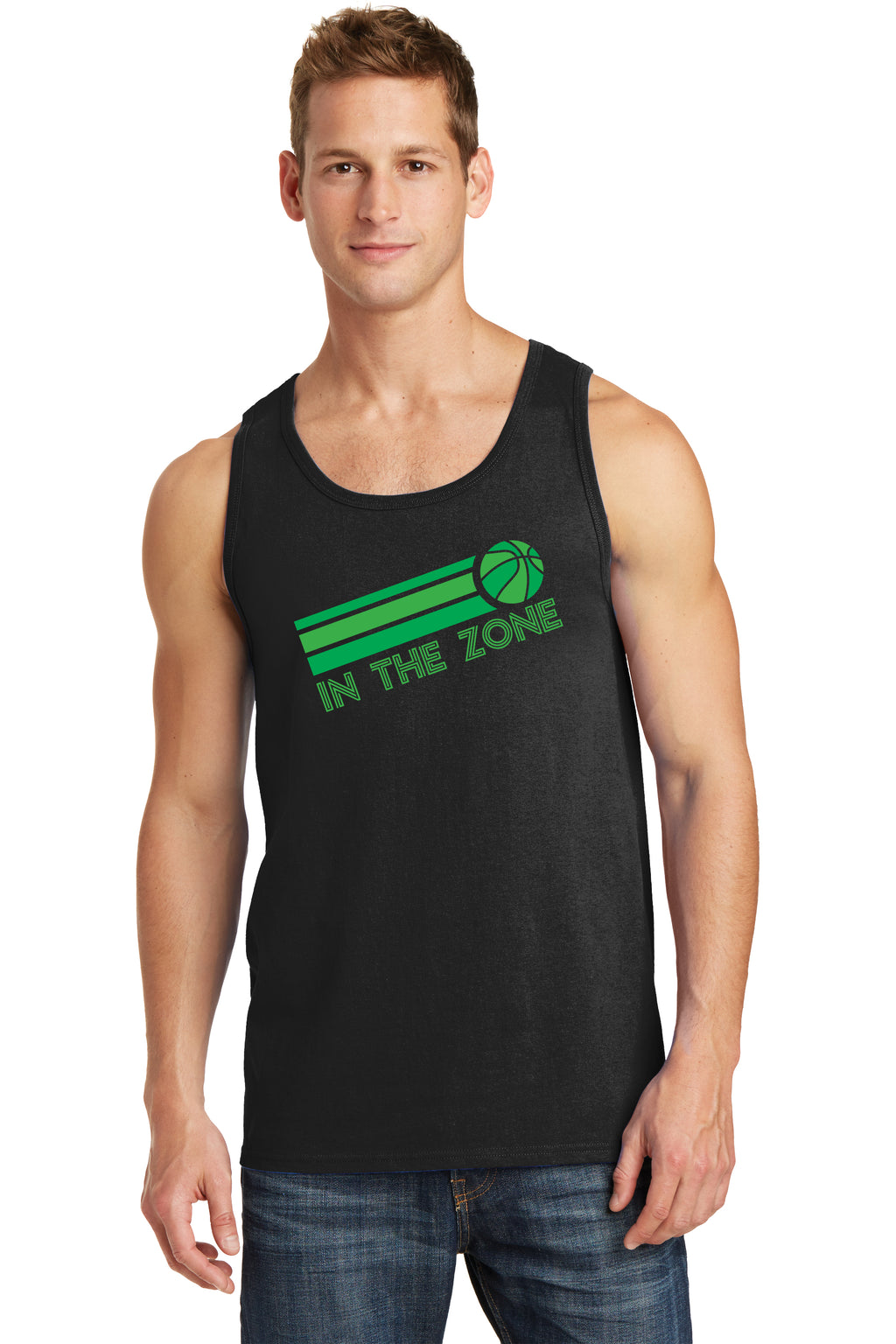 IN THE ZONE - MEN'S TANK