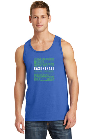 BASKETBALL TERMS - MEN'S TANK