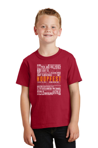 BASKETBALL TERMS - YOUTH TEE