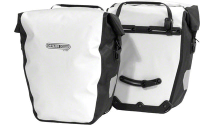 Ortlieb Ortlieb Back-Roller City Rear Panniers - White/Black