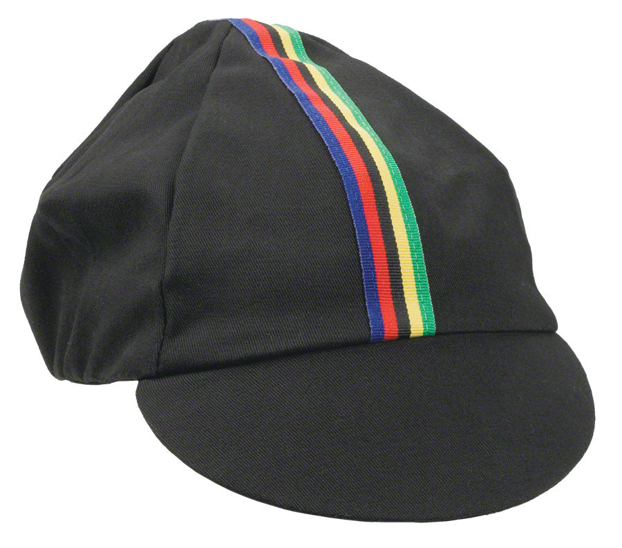 Pace Sportswear Traditional Cap Black/ World champ stripes Md/Lg