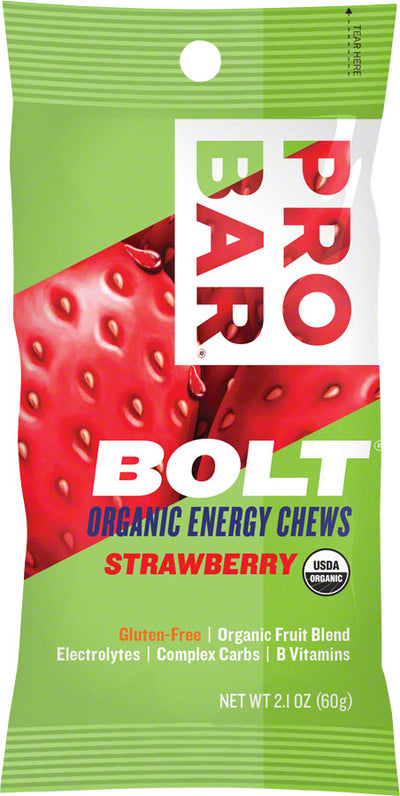 ProBar ProBar Bolt Chews Box of 12 - Strawberry