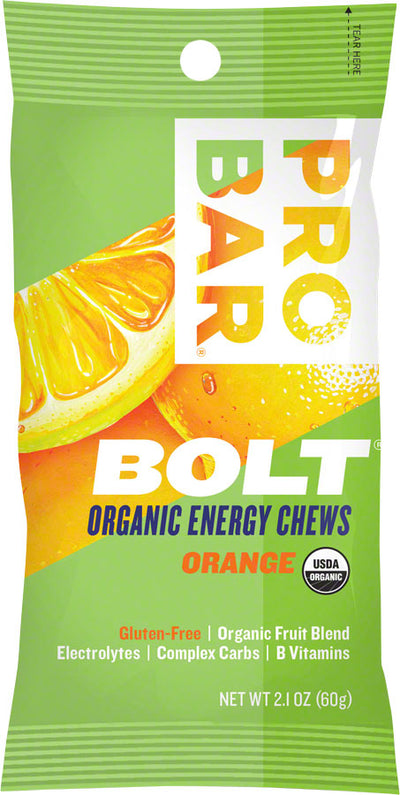 ProBar ProBar Bolt Chews Box of 12 - Orange
