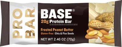 ProBar ProBar Base Bar Box of 12 - Frosted Peanut Butter
