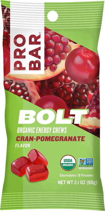 ProBar ProBar Bolt Chews Box of 12 - Cran-Pomegranate