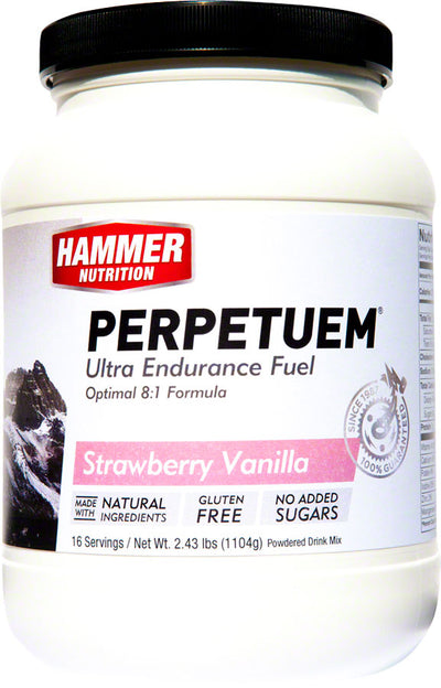 Hammer Nutrition Hammer Nutrition Perpetuem Drink Mix - Strawberry Vanilla / 16 Servings