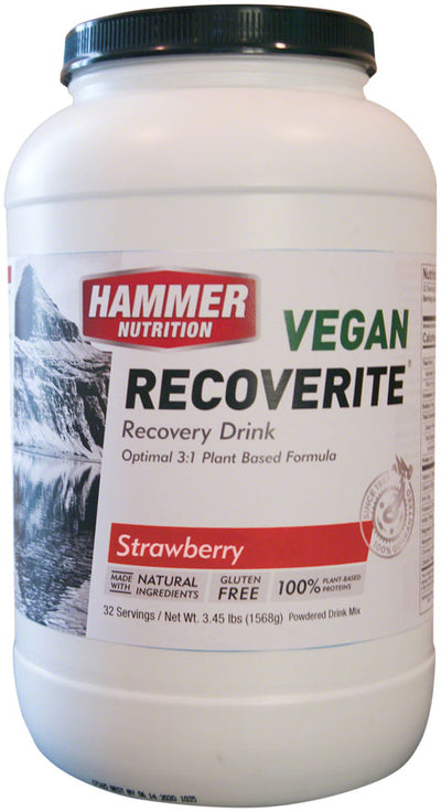 Hammer Nutrition Hammer Nutrition Vegan Recoverite Mix 32 Servings - Strawberry