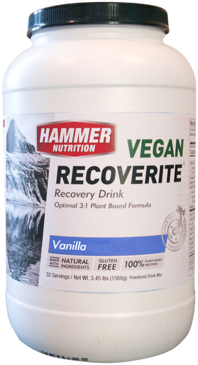 Hammer Nutrition Hammer Nutrition Vegan Recoverite Mix 32 Servings - Vanilla