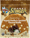Honey Stinger Honey Stinger Gluten Free Organic Waffle Box of 16 - Vanilla and Chocolate