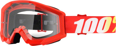 100% 100% Strata Goggles - Adult / Furnace with Clear Lens