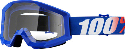 100% 100% Strata Goggles - Adult / Nation with Clear Lens