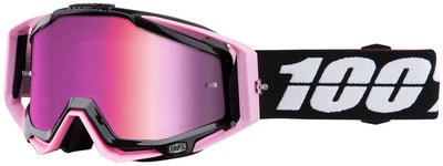 100% 100% Racecraft Goggles - Floyd with Mirror Pink Lens