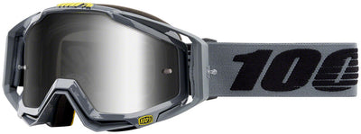100% 100% Racecraft Goggles - Nardo with Mirror Silver Lens