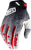 100% Ridefit Men's Full Finger Gloves