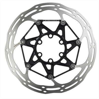 SRAM SRAM Centerline Rounded 6 Bolt Disc Brake Rotor ISO 6B - 00.5018.037.019 - Centerline 2pc IS Disc Rotor w/Ti Bolts 160mm Rounded