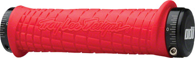 ODI ODI Troy Lee Lock-On Grips - Red/Black