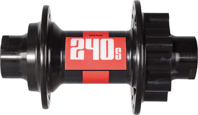 DT Swiss DT Swiss 240s Front Hub - 32h, 20mm Thru Axle, 6-Bolt Disc