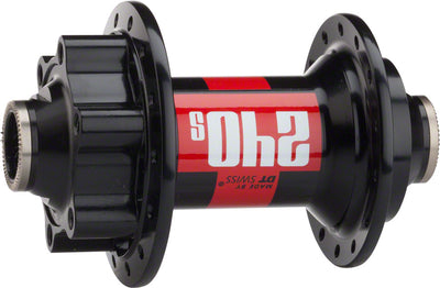 DT Swiss DT Swiss 240s Front Hub - 28h, 15mm Thru Axle, 6-Bolt Disc