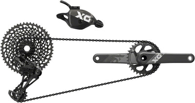 SRAM SRAM X01 Eagle DUB Groupset - 170mm Boost 32 Tooth Crank, 10-50 12-Speed Cassette