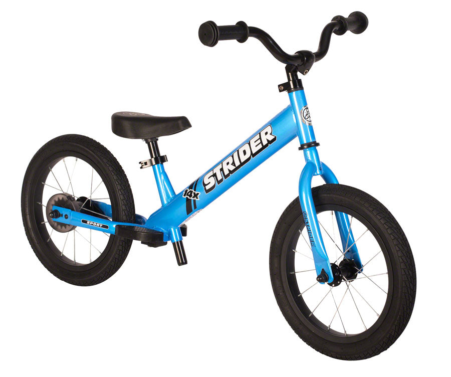 Strider 14x Sport Kids Balance Bike w/ Easy-Ride Pedal Kit