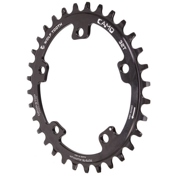Wolf Tooth CAMO Elliptical Chainrings