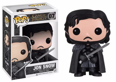 FUNKO POP! - Game of Thrones - Jon Snow Capa Preta