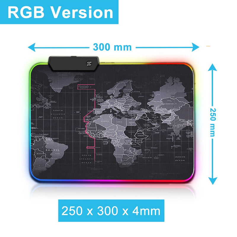 Mouse Pad Gamer RGB