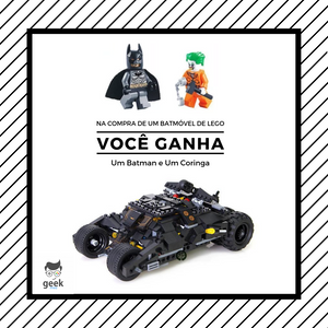 Batmóvel o carro do Batman de Lego