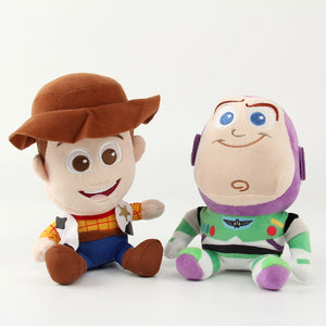 Pelúcia Toy Story - Woody + Buzz Lightyear