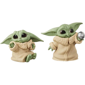 Super Kit - 6 Baby Yodas - Star Wars - Mandaloriano