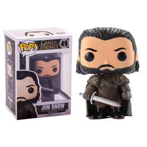FUNKO POP! - Game of Thrones - Jon Snow Armadura Marrom