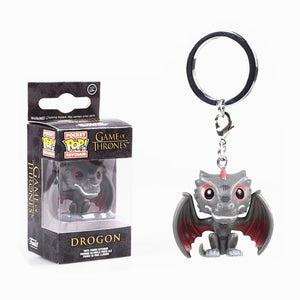 FUNKO POP! Chaveiro - Drogon - Game of Thrones