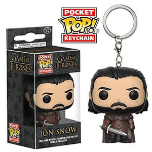 FUNKO POP! Chaveiro - Jon Snow - Game of Thrones