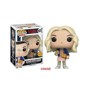 FUNKO POP! - Stranger Things - Onze com Biscoitos Loira - Eleven With Eggos Blonde