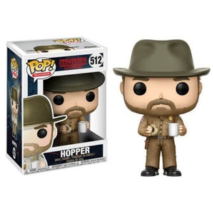 FUNKO POP! - Stranger Things - Hopper Xerife