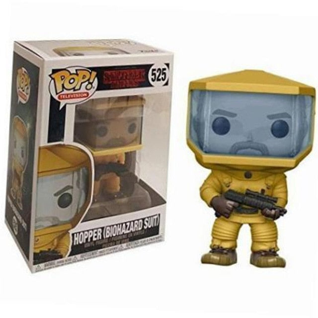 FUNKO POP! - Stranger Things - Hopper Roupa de Risco Biológico - Hopper Biohazard Suit