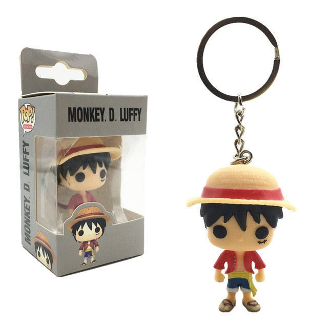 FUNKO POP! Chaveiro - Monkey D. Luffy