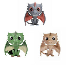 Carregar imagem no visualizador da galeria, FUNKO POP! - Game of Thrones - Kit com 3 - Drogon - Rhaegal - Viserion