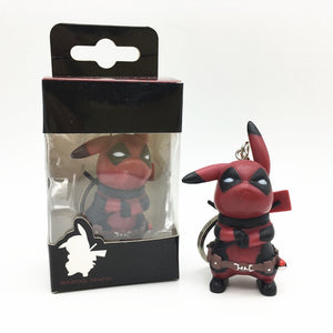 FUNKO POP! Chaveiro - Pikachu Deadpool
